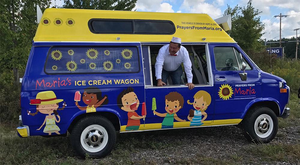 PFM icecream wagon